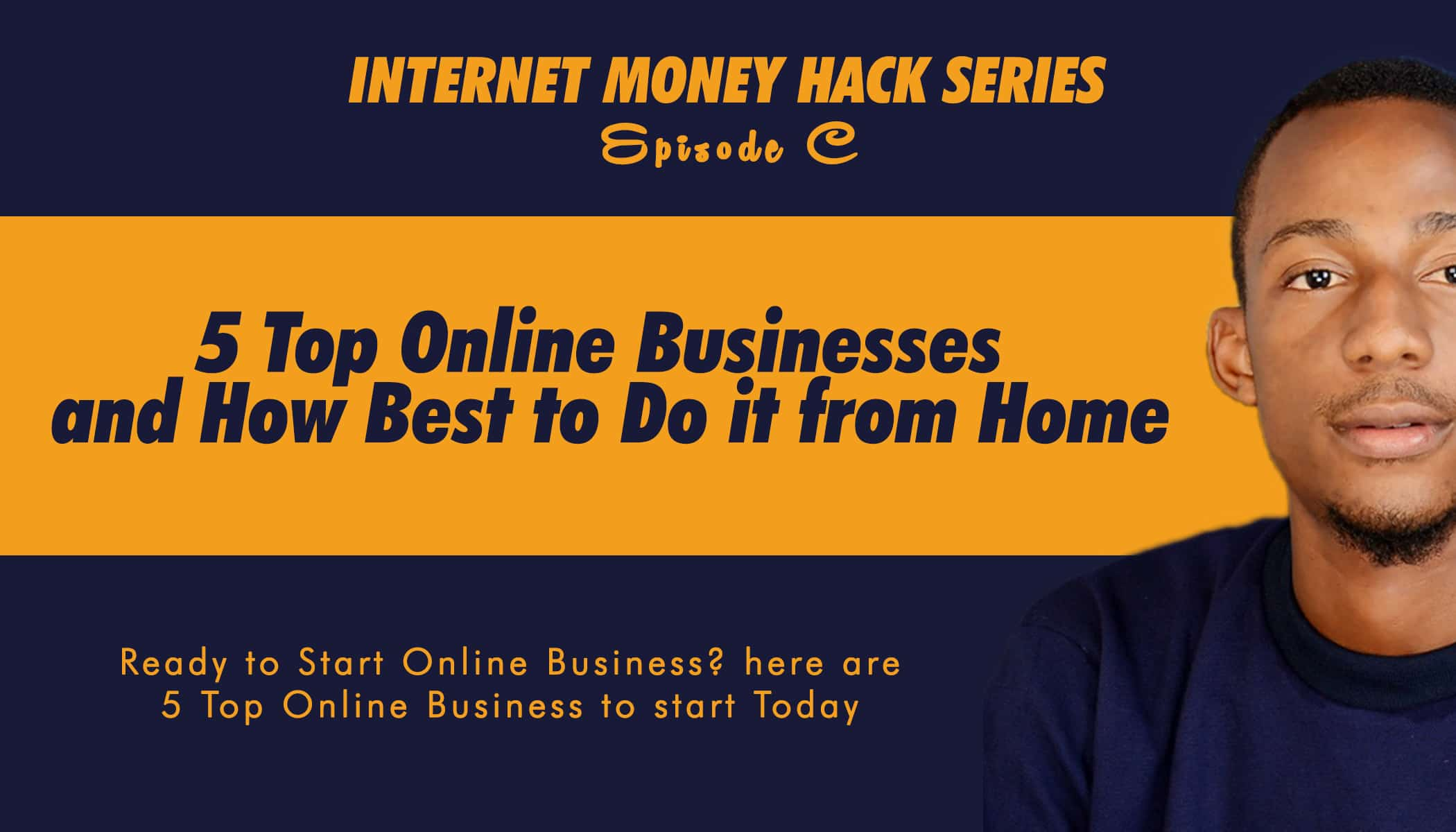 5 top Online businesses